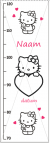 groeimeter 'Hello Kitty'